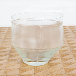 MITRANI TRACE BOWL - CLEAR