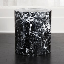 MONOLITH SIDE TABLE - NEGRO