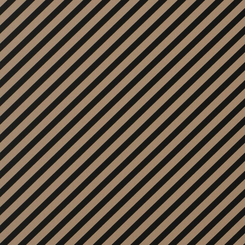 OBLIQUE WALLPAPER - BEIGE BLACK