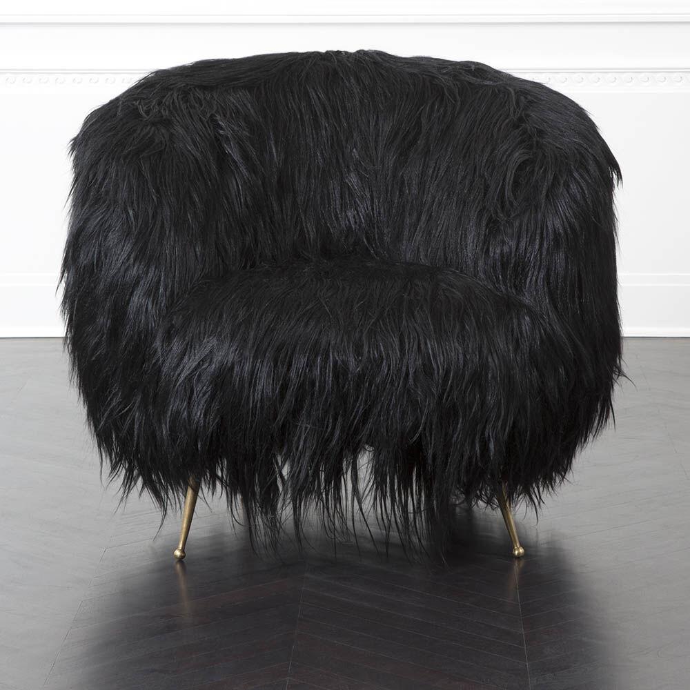 SOUFFLE CHAIR - GOAT HAIR