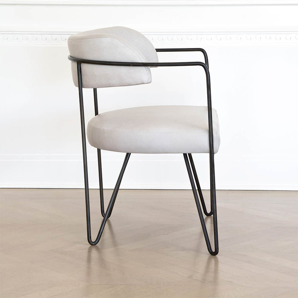 MARTEL CHAIR - LINEN