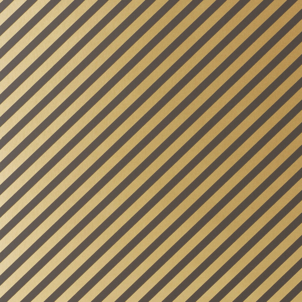 OBLIQUE WALLPAPER - COPPER BLACK