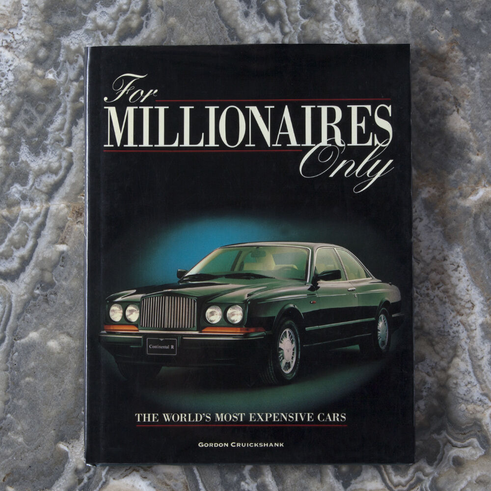 FOR MILLIONAIRES ONLY