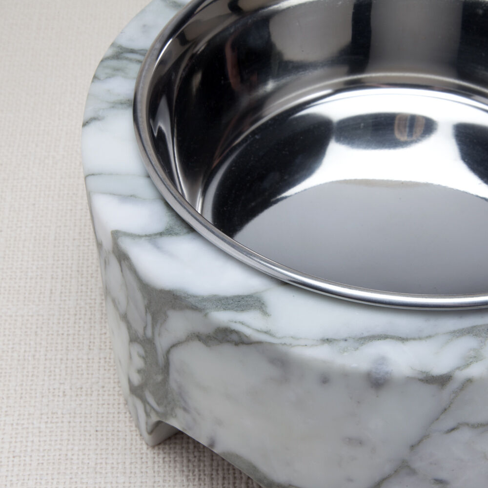ZUMA LARGE DOG BOWL - BIG FLOWER