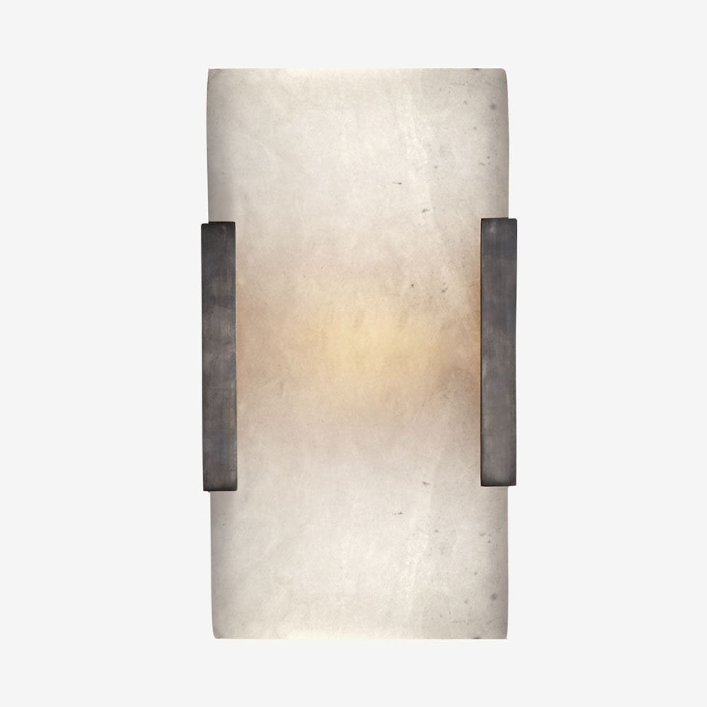 COVET WIDE CLIP BATH SCONCE - BRONZE