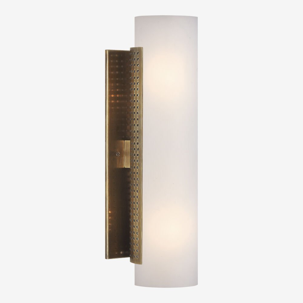 PRECISION TUBE SCONCE - BRASS