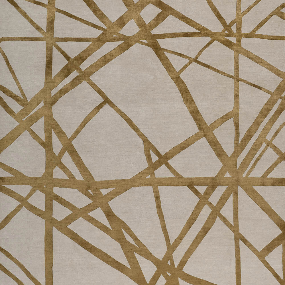 CHANNELS COPPER RUG