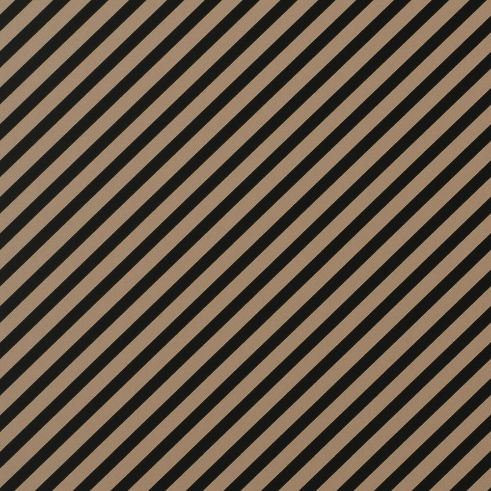 OBLIQUE WALLPAPER - BEIGE BLACK