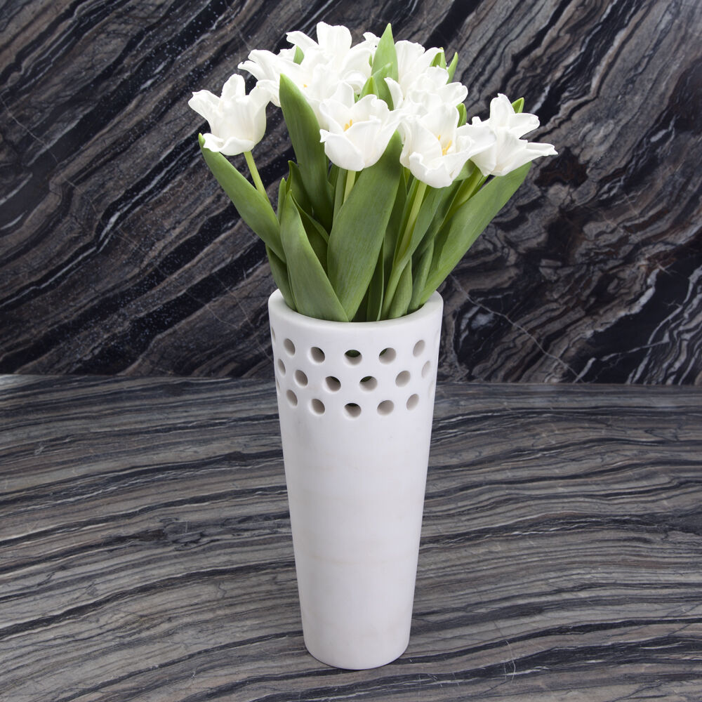 SMALL PERFORATED VASE