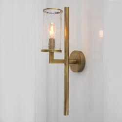 LIAISON SINGLE ARM SCONCE - POLISHED NICKLE
