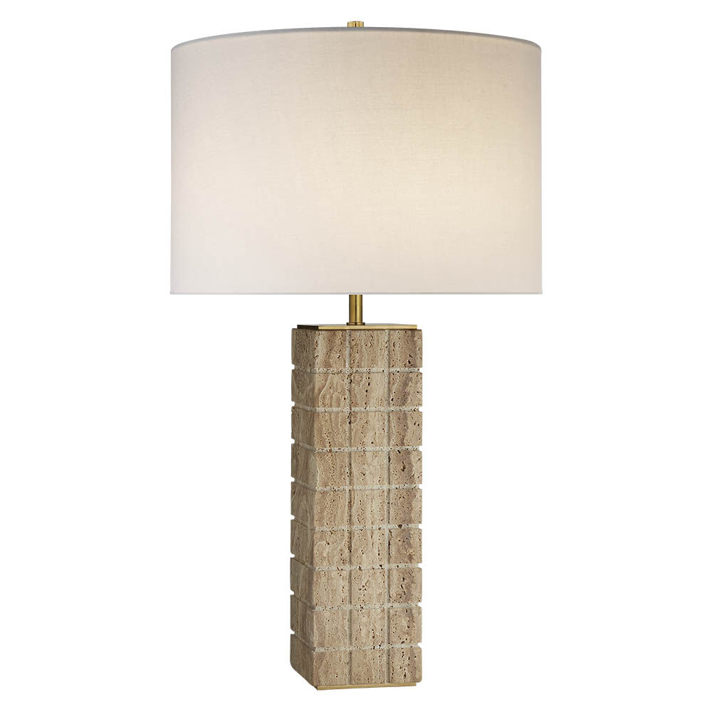 Contemporary lamps table lamps dar dar loc4008 loco 3 light modern pietra large table lamp geotapseo Choice Image