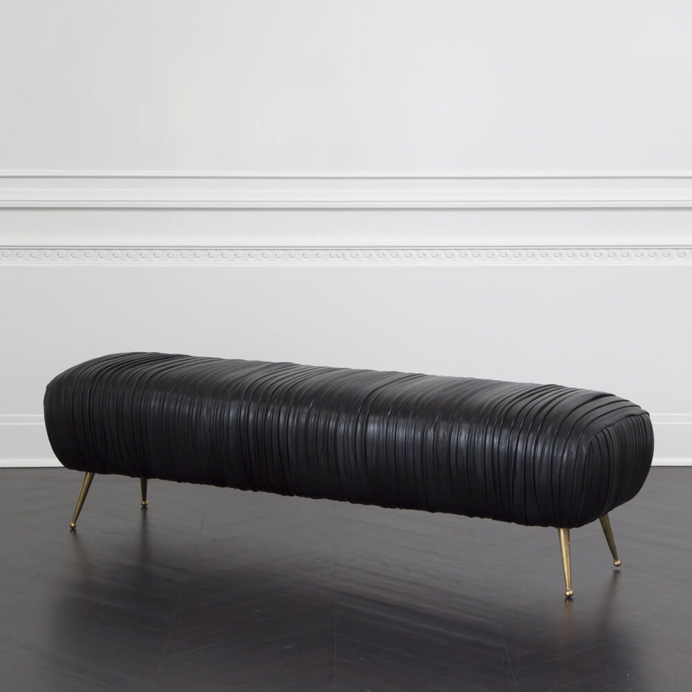 SOUFFLE BENCH - BLACK