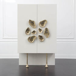 CRESCENT CABINET - IVORY LAQUER