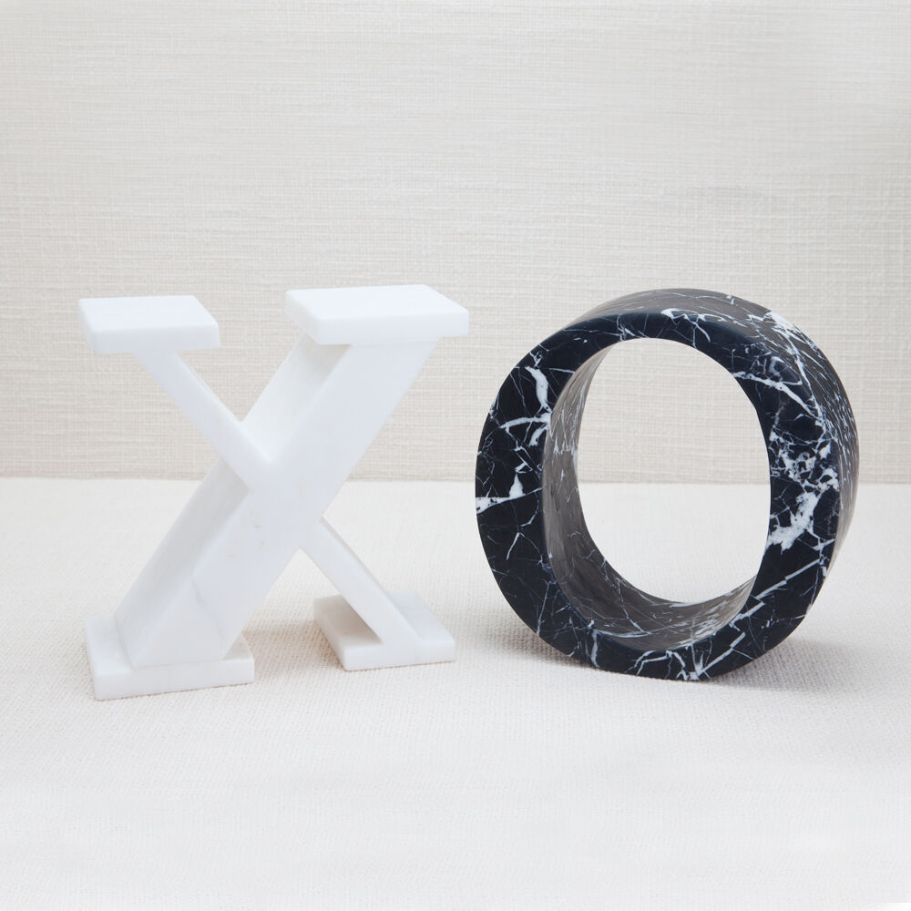 MARBLE LETTER X