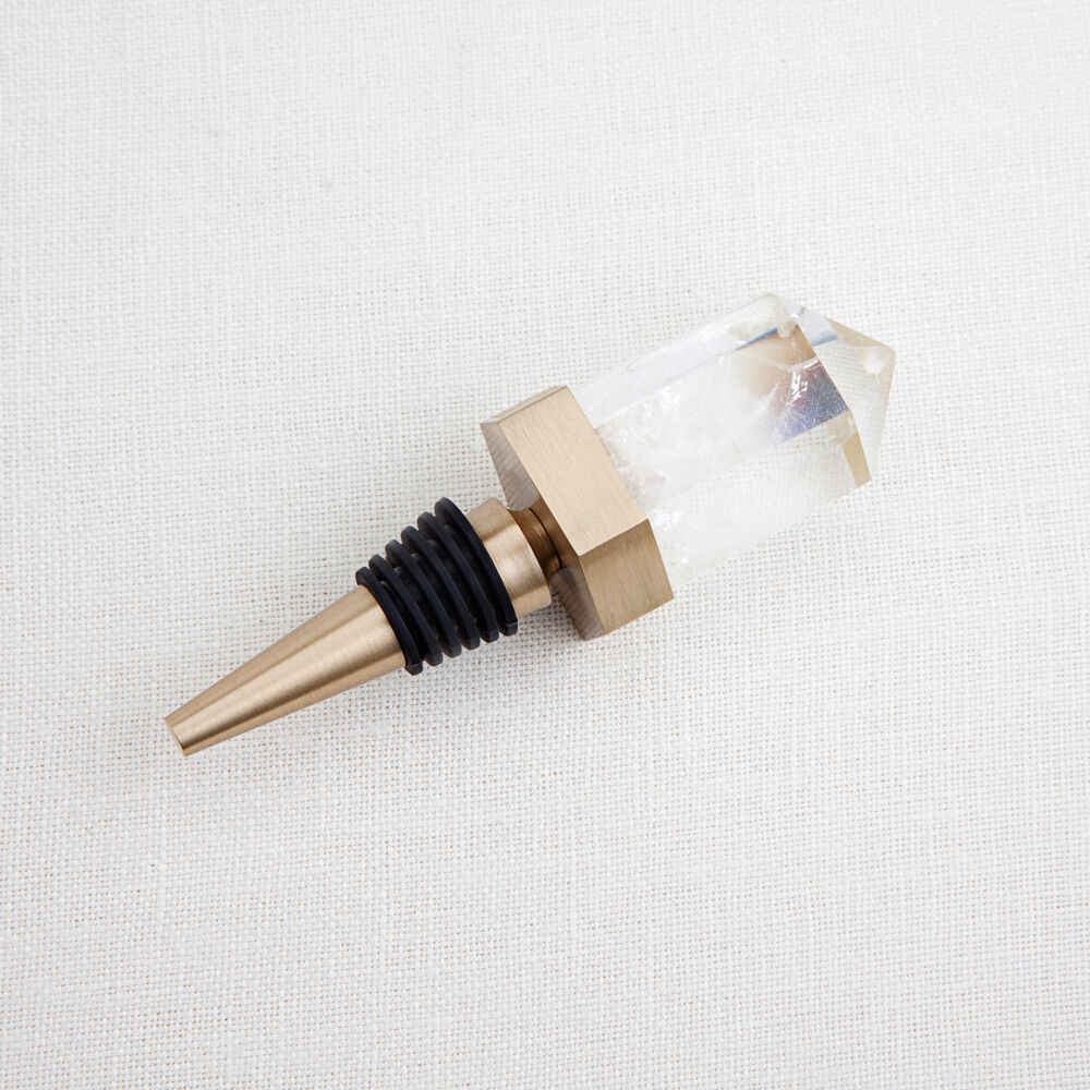 CRYSTALLIZED WINE STOPPER