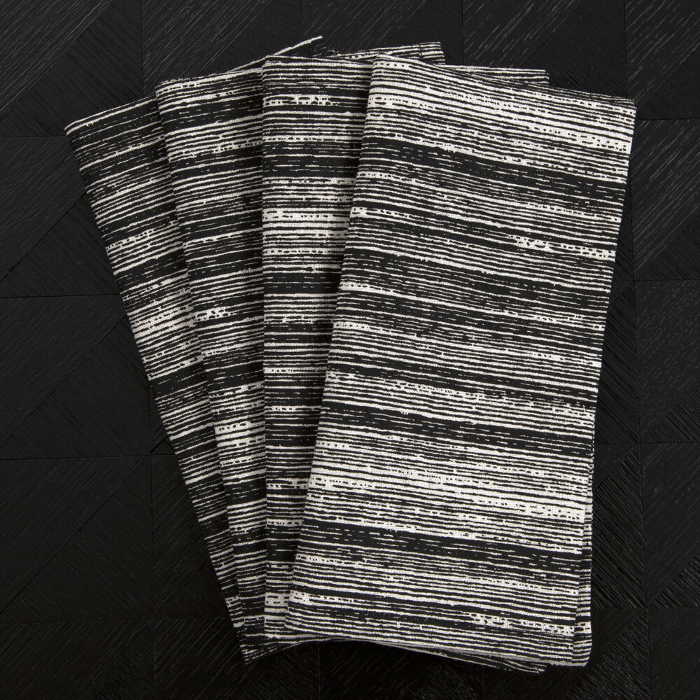 STRIATED DINNER NAPKINS