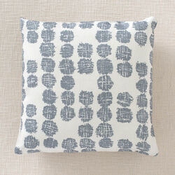 SOLSTICE OUTDOOR PILLOW - LAKE/IVORY