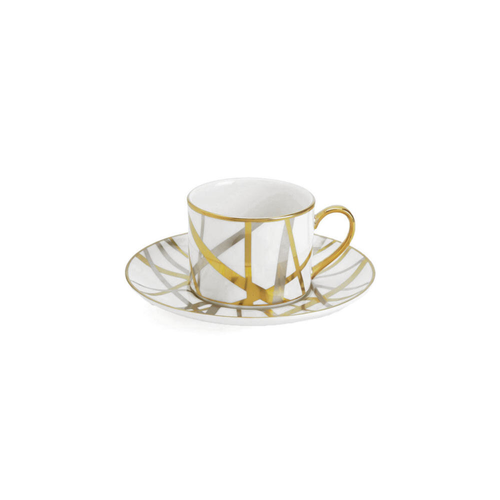 MULHOLLAND TEA CUP AND SAUCER SET