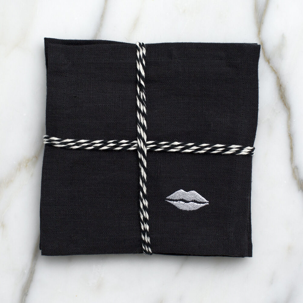 KISS COCKTAIL NAPKINS