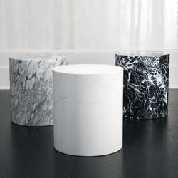 MONOLITH SIDE TABLE - BIG FLOWER