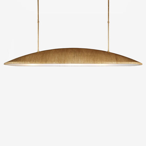 UTOPIA LARGE LINEAR PENDANT - GILD