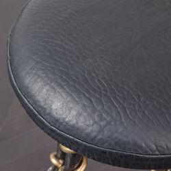 SERPENT BAR STOOL - BUBBLY BLACK