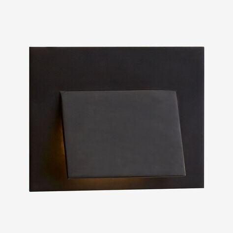 ESKER ENVELOPE SCONCE - BRONZE