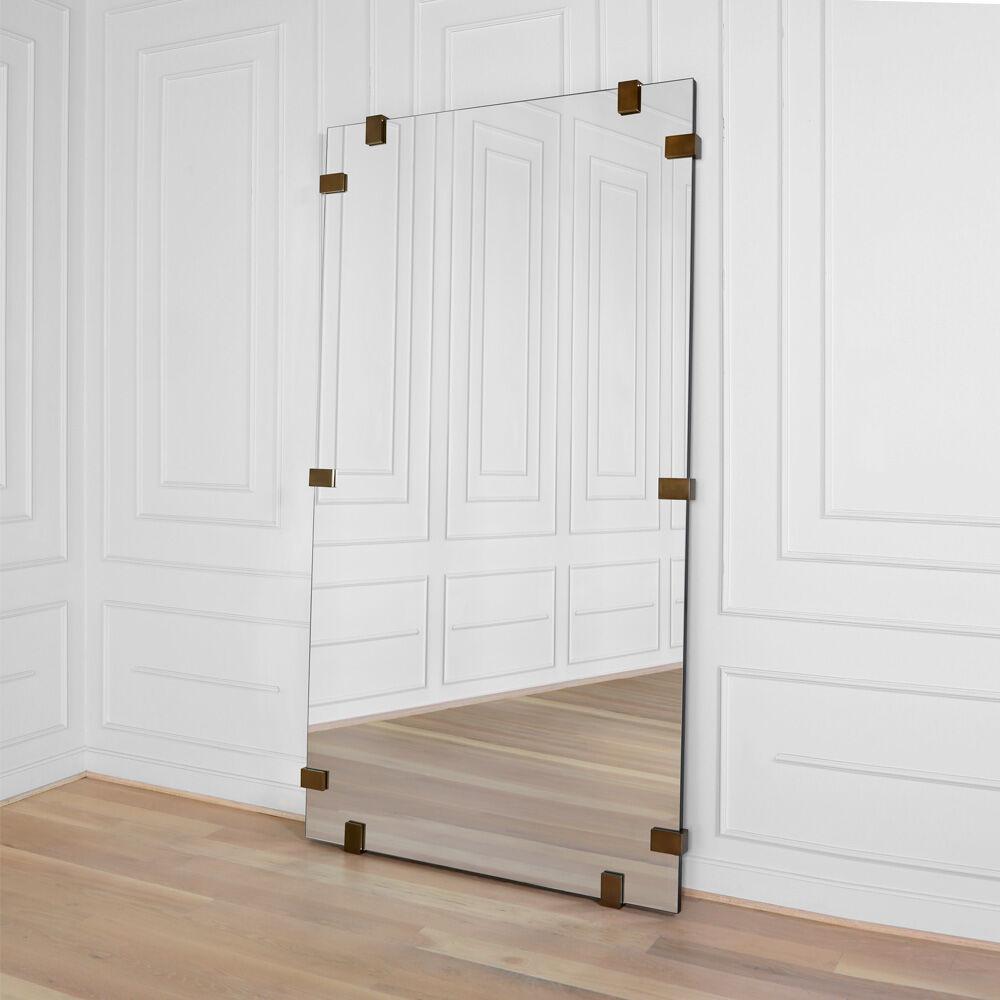 pickfair floor mirror . pickfair floor mirror by kelly wearstler