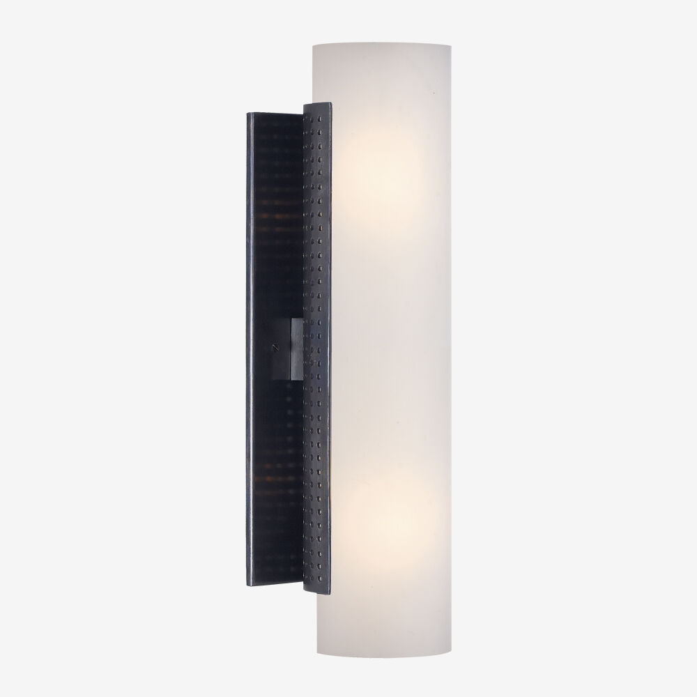 PRECISION TUBE SCONCE - BRONZE