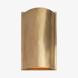 AVANT SMALL CURVE SCONCE - BRASS