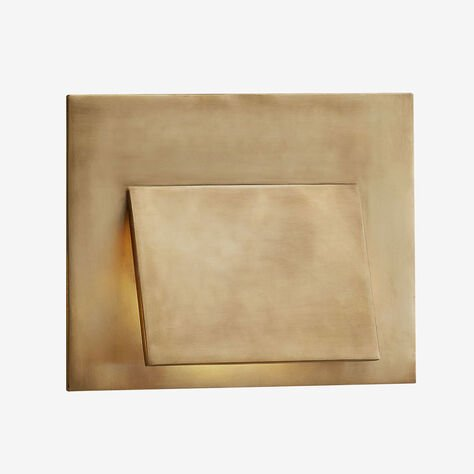 ESKER ENVELOPE SCONCE - BRASS