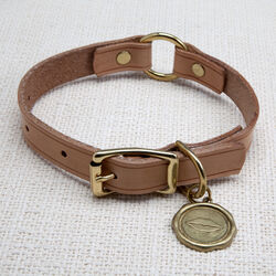 LIAISON DOG COLLAR & TAG MEDIUM