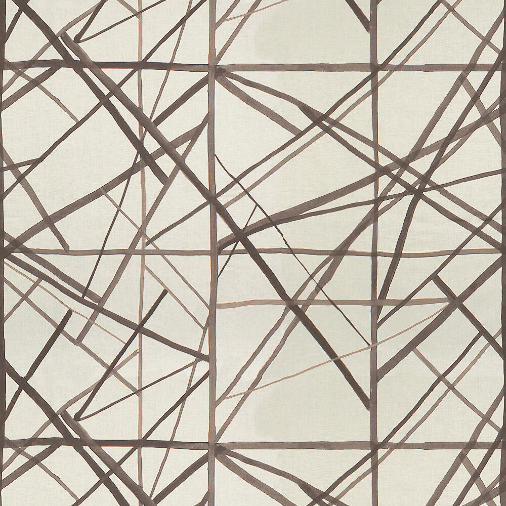 CHANNELS FABRIC - TAUPE IVORY