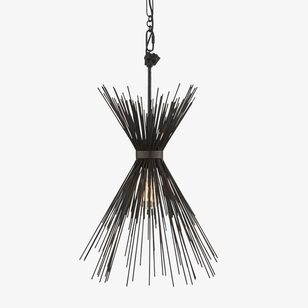 STRADA NARROW PENDANT - AGED IRON