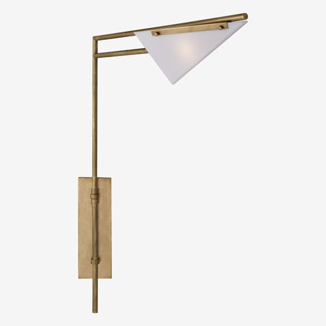 FORMA SWING ARM SCONCE - BRASS