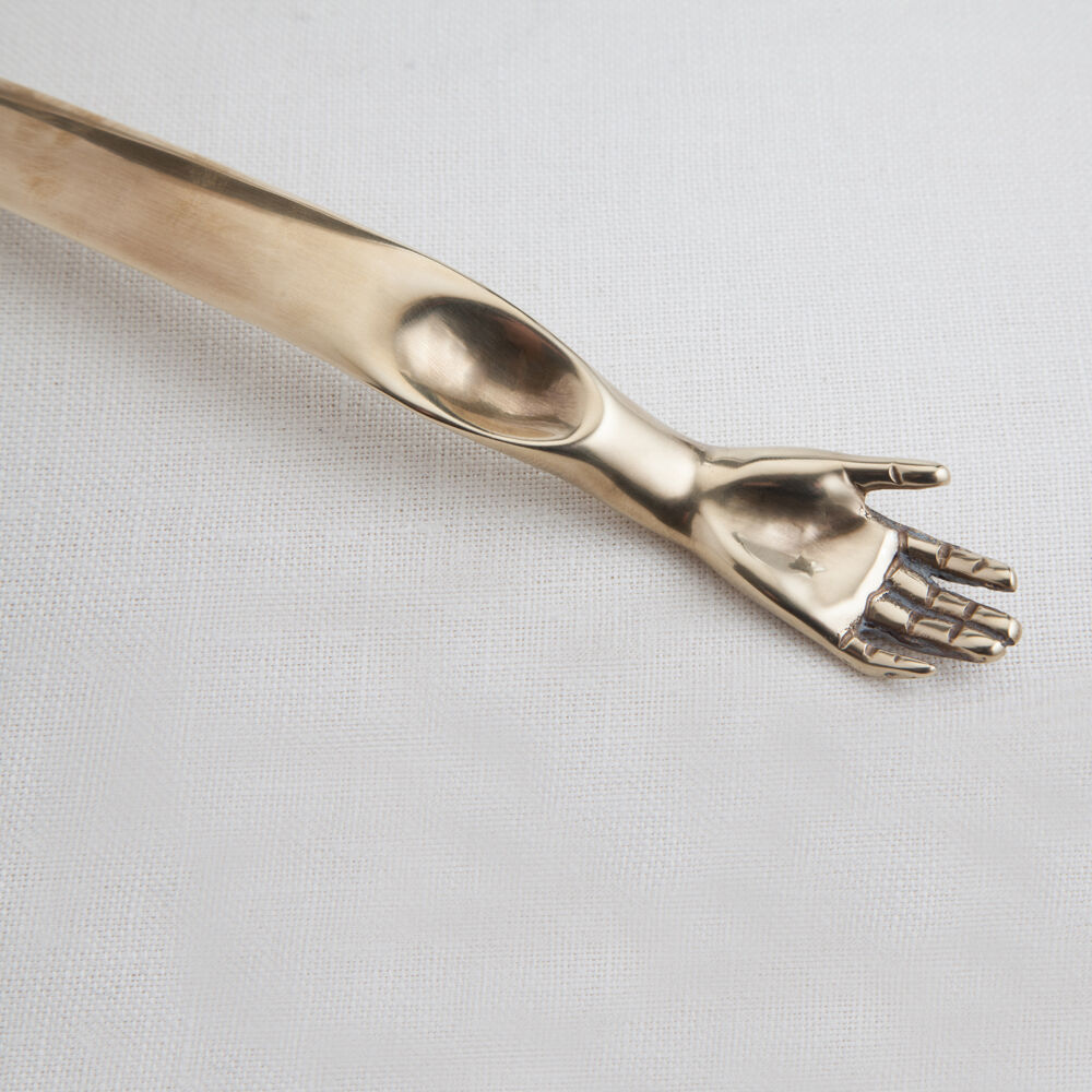 SLIM HAND OPENER - BURN BRASS