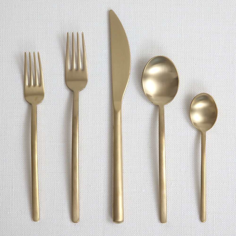 LINEA ICE ORO - FLATWARE