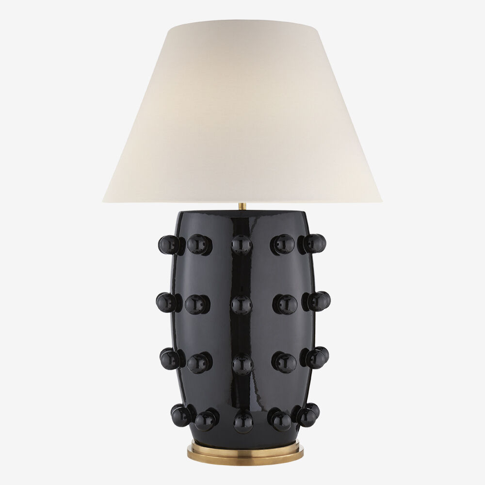 LINDEN TABLE LAMP - BLACK
