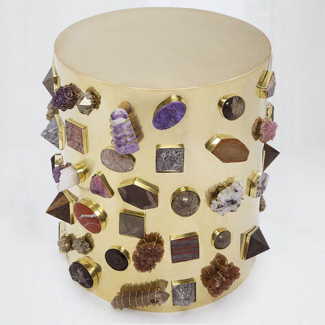 BEJEWELED STOOL