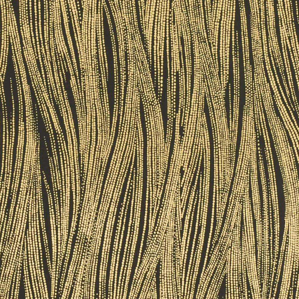 CURRENTS WALLPAPER -EBONY GOLD