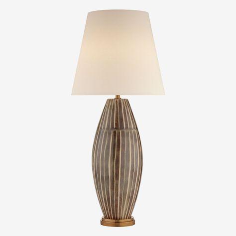 REVELLO TABLE LAMP - TIGER SHELL
