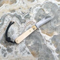 POGLIA POCKET KNIFE - BONE WHITE