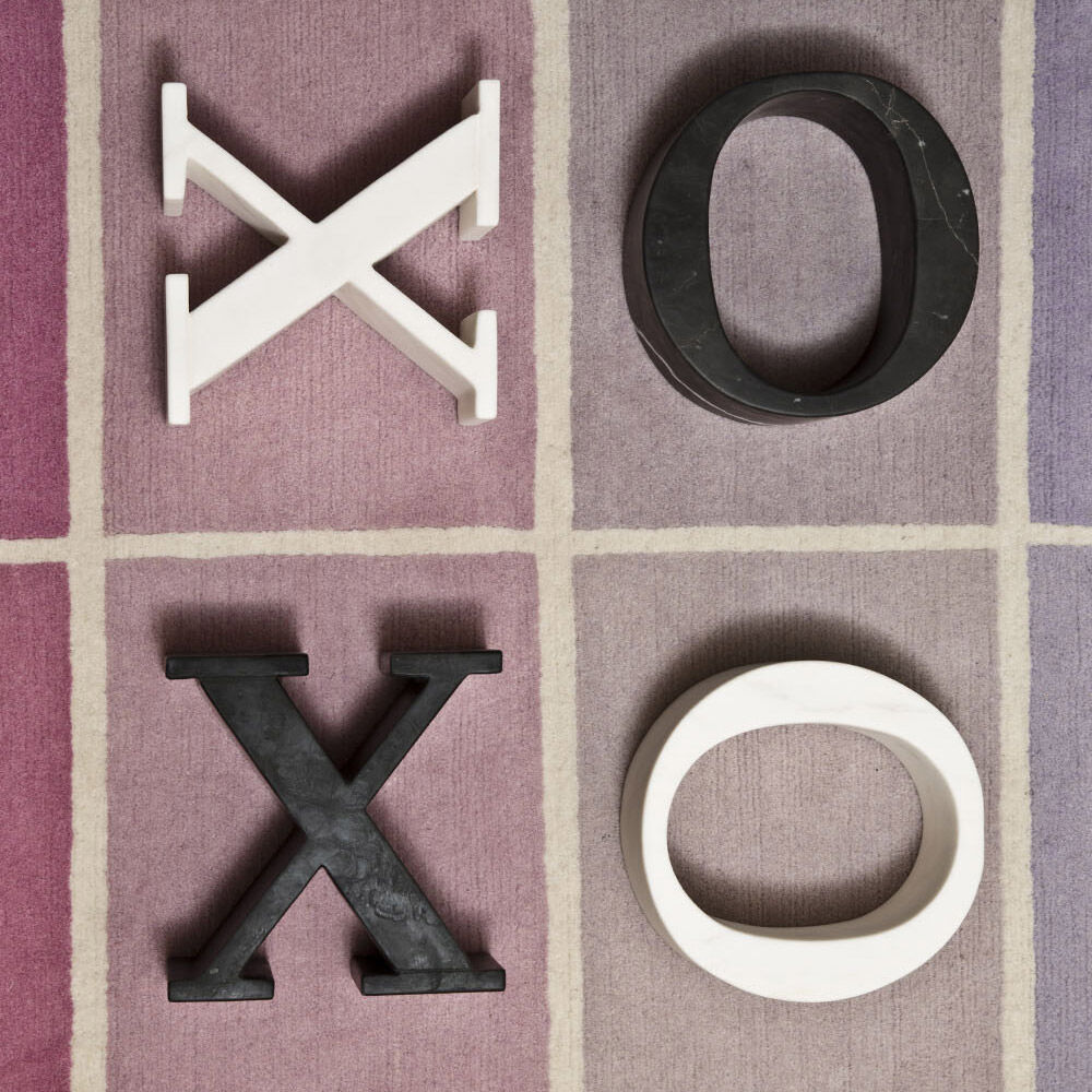 MARBLE LETTER O