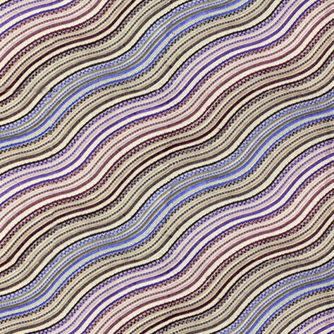 WATER STRIPE FABRIC - PLUM