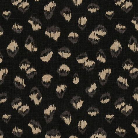 FELINE FABRIC EBONY BEIGE - SAMPLE