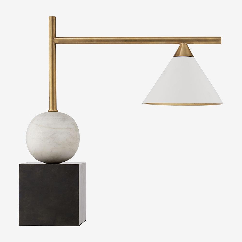 Designer table lamps kelly wearstler cleo large desk lamp mozeypictures Gallery
