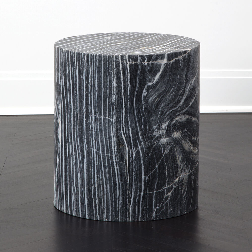 MONOLITH SIDE TABLE - GREY RAINBOW