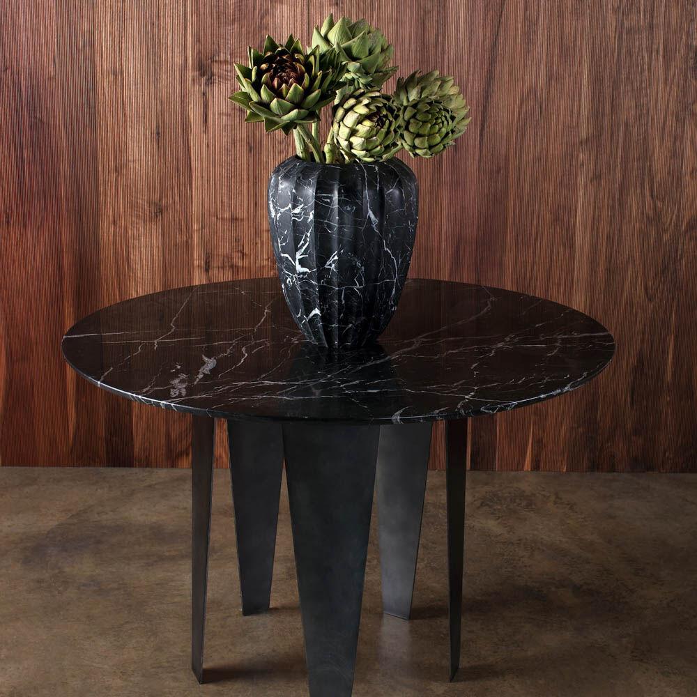Large fluted marble vase by kelly wearstler fluted large vase negro reviewsmspy