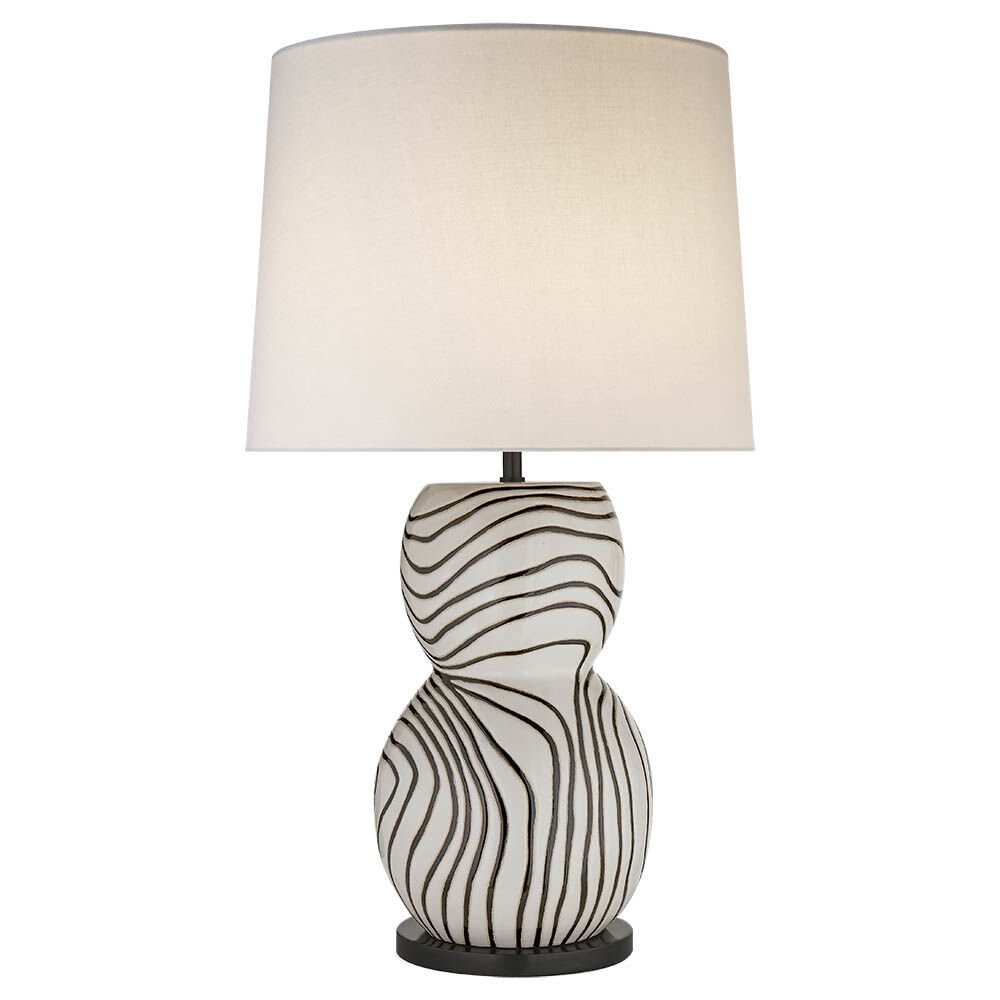Balla large table lamp high end luxury design furniture and balla large table lamp whiteblack w linen shade aloadofball Image collections