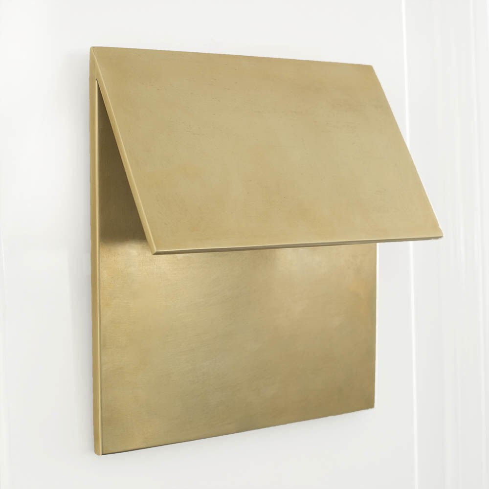 ESKER SINGLE FOLD SCONCE - BRASS